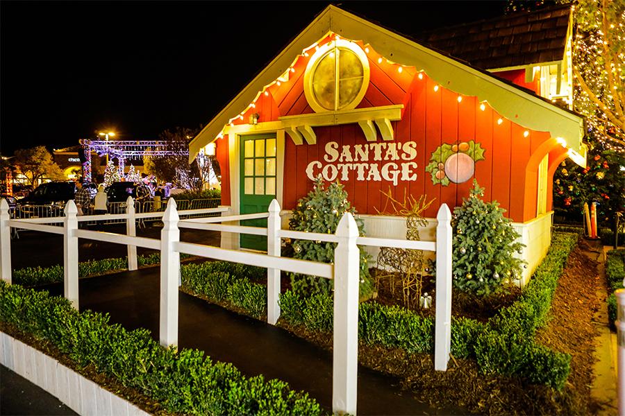 Visit Santa's Cottage