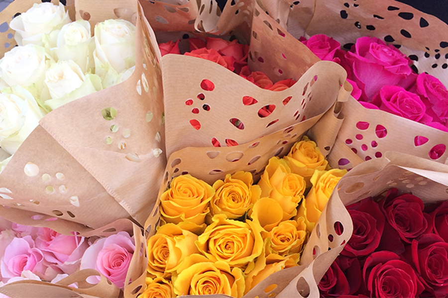 Valentine's Day Bouquet Offer at Vintage Grocers