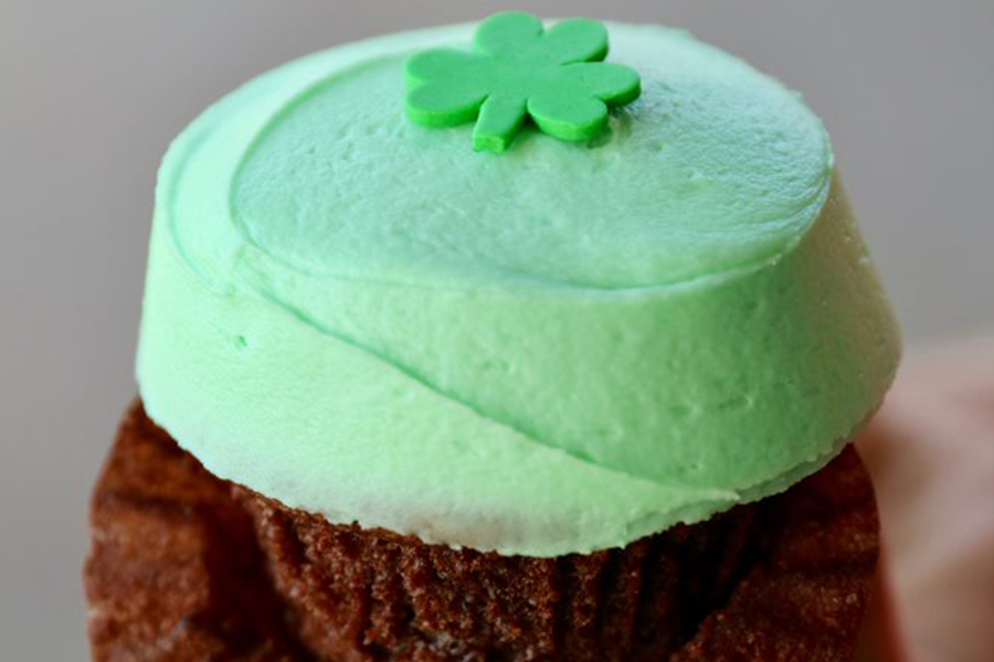 New Shamrock Cupcake at Sprinkles Cupcakes and Ice Cream