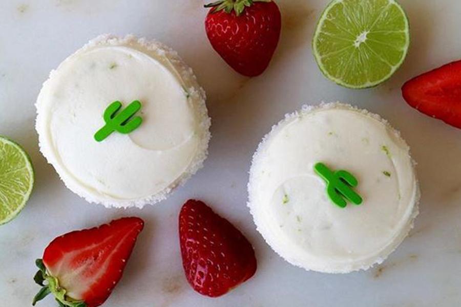 Strawberry Margarita Cupcake at Sprinkles Cupcakes & Ice Cream