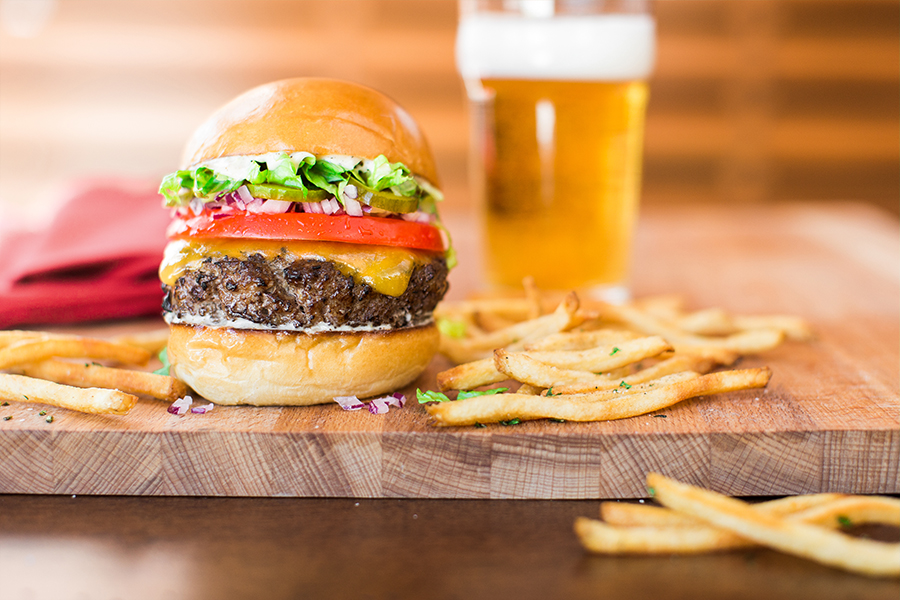 National Cheeseburger Day Special at Paul Martin's American Grill