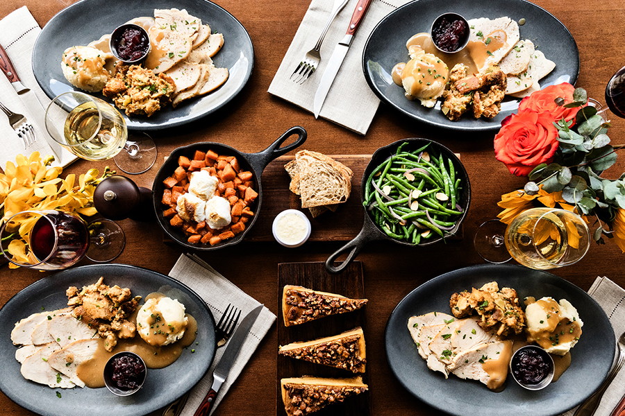 Thanksgiving at Paul Martin's American Grill