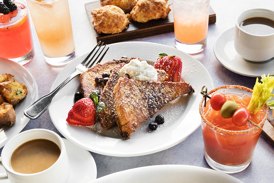 Weekend Brunch at Paul Martin's American Grill