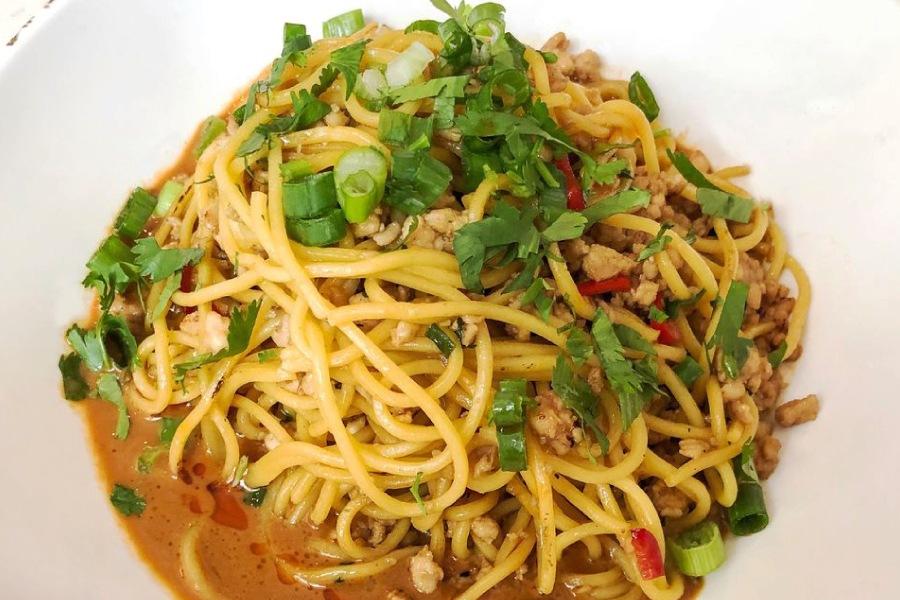 New Dan Dan Noodles at Social Monk Asian Kitchen