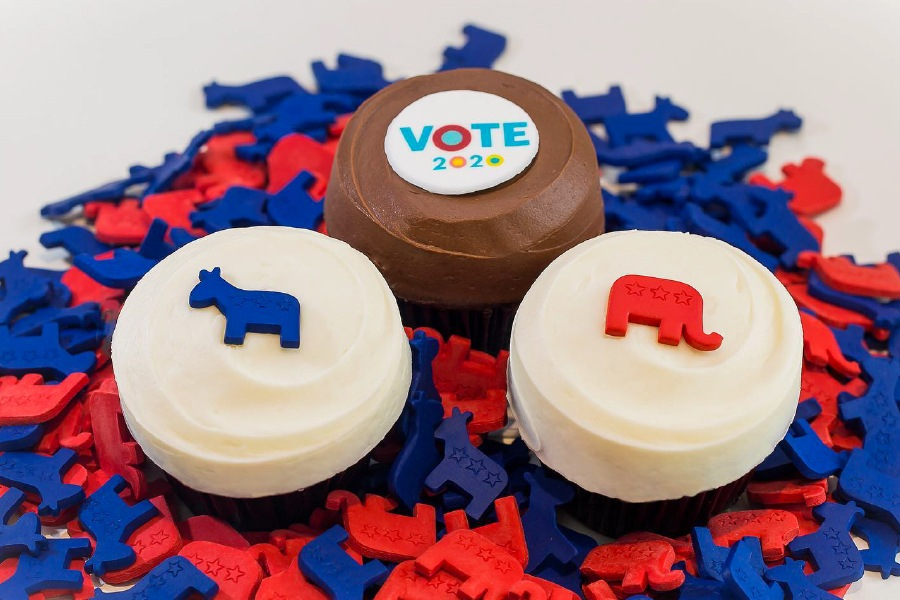 Vote 2020 Collection at Sprinkles Cupcakes & Ice Cream