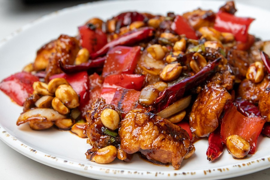 New Kung Pao Chicken at Social Monk Asian Kitchen