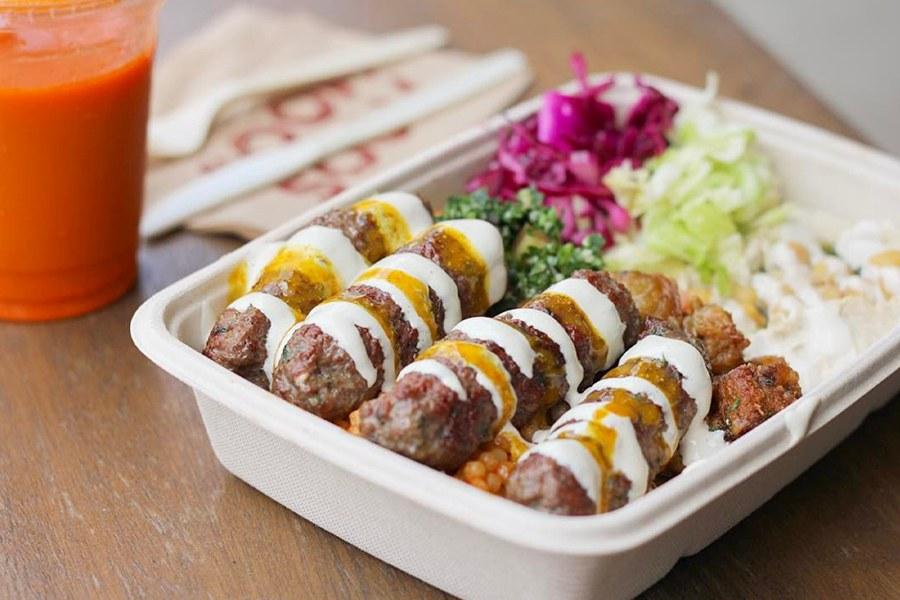 Individually Packaged Meals at Soom Soom Mediterranean