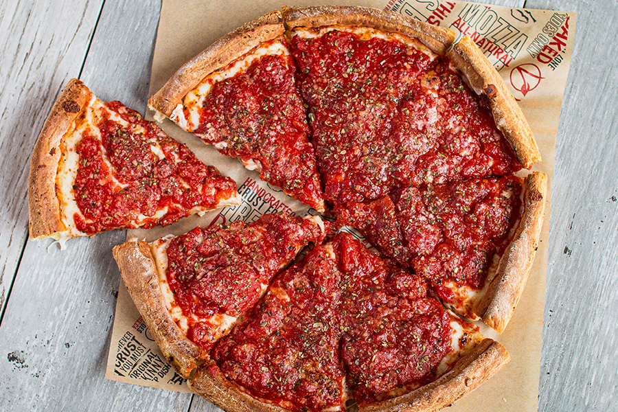 Return of the Chicago Deep Dish at Fresh Brothers