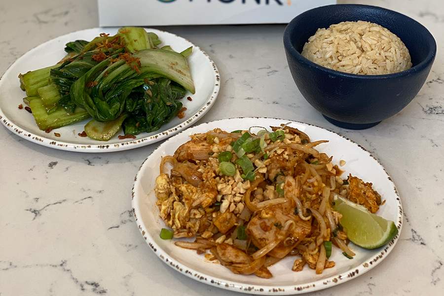 Lunch Combos at Social Monk Asian Kitchen